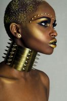 African queen by Striapunina