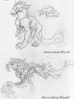 Layhr concept sketches! by SparkleNinja