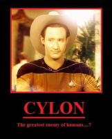 Cylons - TNG by youliedanyway