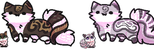 Cats adopts + animated icon CLOSED by XxAdoptxX