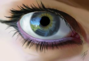 Beautiful Eye ... by MPages