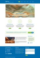 Free Business PSD Template by xara24