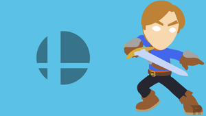 Mii Swordfighter Minimalist by turpinator77