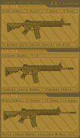 Gunfighter: Weapons: Barrel Length by cityofthesouth