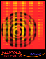 halftone .svg vectors by istarlome