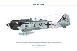 Fw190A8 JG3 2 by WS-Clave