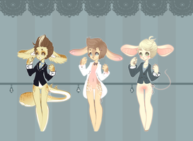 Suits Adoptables .:Closed:. by Pieology