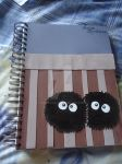 totoro notebook  duendes del polvo by jessicak96