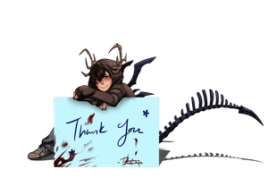 Thanks by DeadmanJackalope