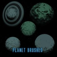 Planet Brushes by silver-