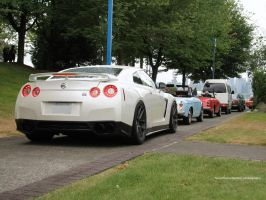 GT-R and Friends by SeanTheCarSpotter