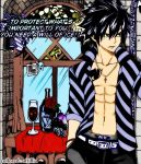 Gray Rosemary Fairy Tail Chapter 315 by afrillia