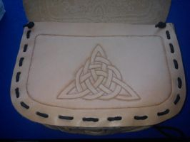 Celtic leather beltbag 4 by Zarganath