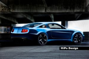 Ford Mustang by Mipo-Design