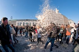 Berlin pillow fight 2011 - 27 by Egg-Salad