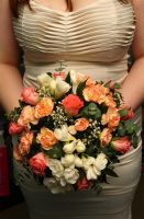Wedding Posy bouquet by DeborahSumpter