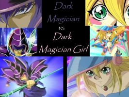 DM vs. DMG by Dark-Magician-1991