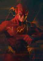 The Flash by crazypalette