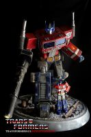 Transformers 1:12 Scale G1 Optimus Prime Sculpture by grimmstudios