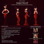 Juniper Audition Sheet by IsaiahStephens