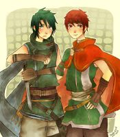 Sothe and Tormod by Cooro-kun