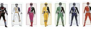 SPD Power Rangers by planeteer1988