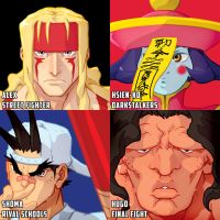 some more Capcom heads by theCHAMBA