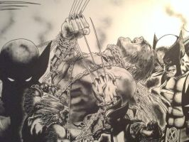 WOLVERINE AGAIN by KYLE-CHANEY
