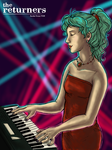 Terra Branford as Keyboardist by selie