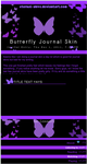 Butterfly Journal Skin by Eternal-Skye