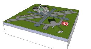 Airport in 3D by Rekalnus