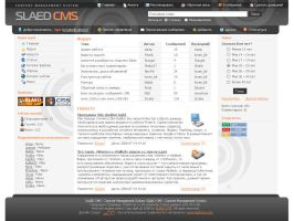 Slaed CMS template by Igorka