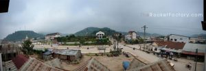 Nam Neua Guest House View by frankrizzo