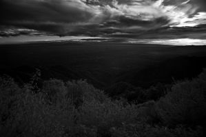 Los Angeles Sunset in IR by DoomWillFindYou