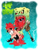 Zombie Bob Squarepants by Artist-MarcusAlley