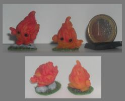 MM: Minor Fire elementals by Gnukko