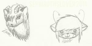 Livon and Alice - Headshots by SephirothsLover