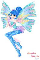 Samira new transformation Sirenix !!! by Coloralecante