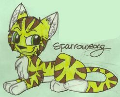 AT: Sparrowsong by dragonpop1