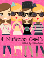 4 Nenas Setsis by MiikaEditions