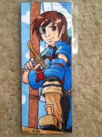 Vyse bookmark by silverwatermist