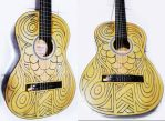 Bart Acoustic Guitar by gdsfgs