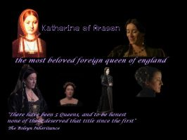 Catherine of aragon banner by by Lucrecia-89