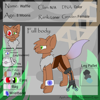 You'll Never Be Yourself Again - Waffle Ref - CoS by Vulpix150