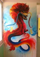 Dragon Murales by Kinext