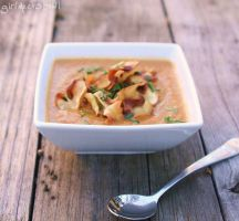 Carrot Parsnip Soup by LZakaria