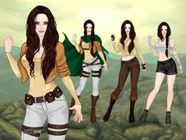 Major Aurora Amsel (biography and outfits) by galateabellator