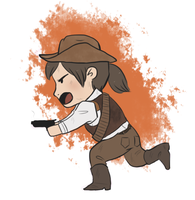 Red Dead Redemption Chibi by MerriTheDoodler