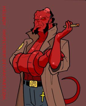 Hellboy by Inspector97