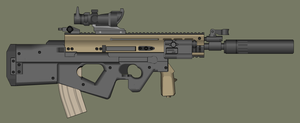 FN SCAR 2000-90 by PatTheGunartist